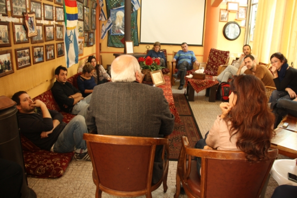 בדליית אל כרמל עם הסופר סלמאן נטור